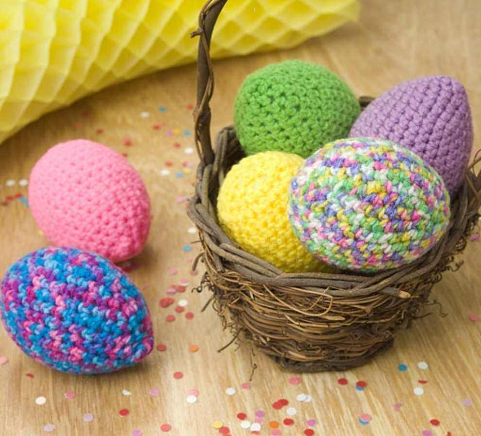 Free Easter Crochet Patterns Eggs