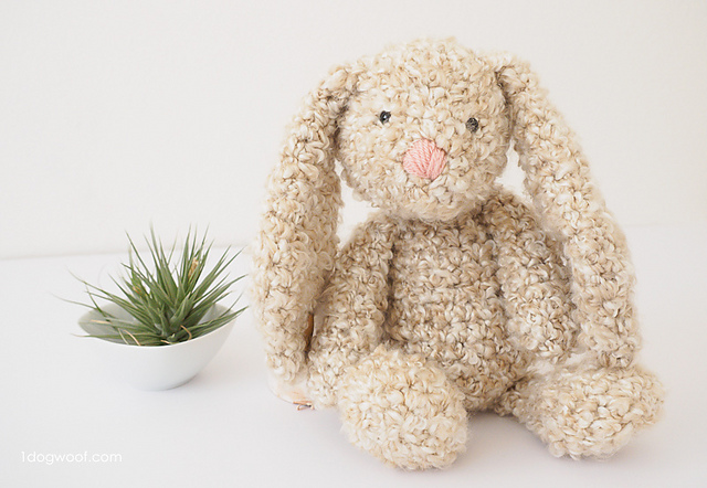 Free Easter Crochet Patterns Floppy Bunny