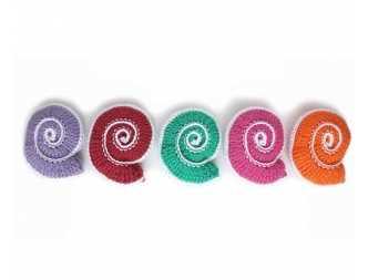 Free Spiral Shell Crochet Pattern
