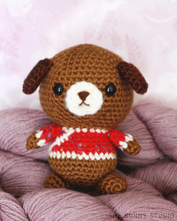 Free dog amigurumi crochet pattern
