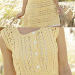 Goldfinch Free Crochet Dress Pattern