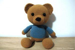 Lil' Classic Teddy Free Crochet Pattern