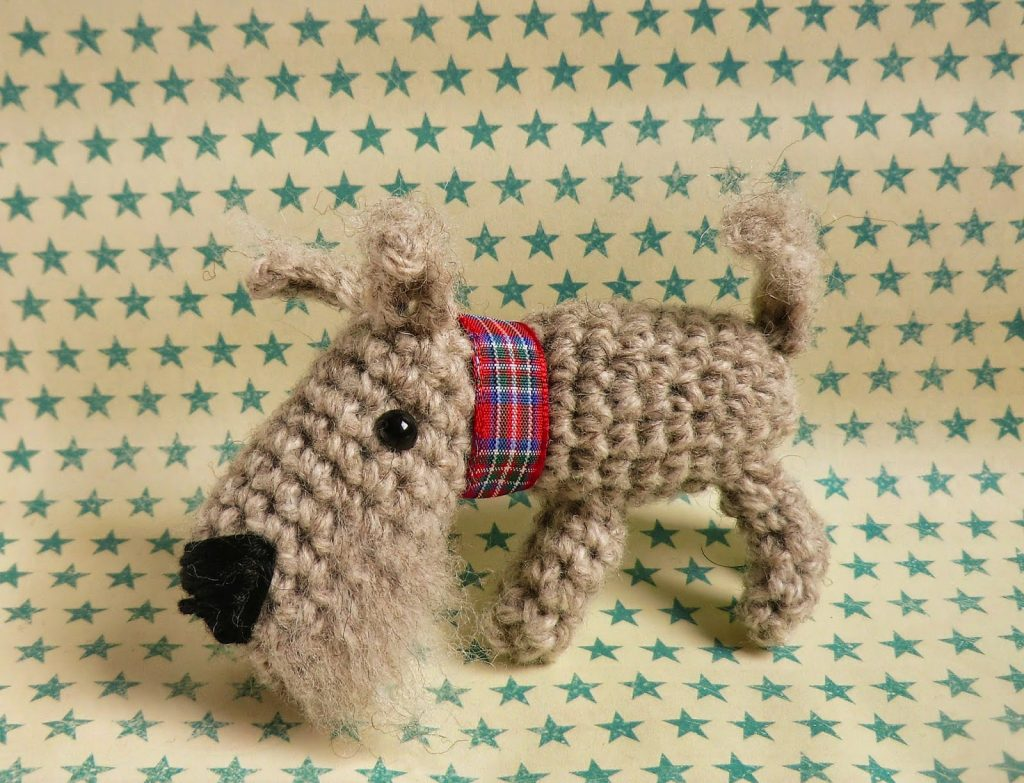 Little dog amigurumi crochet pattern free