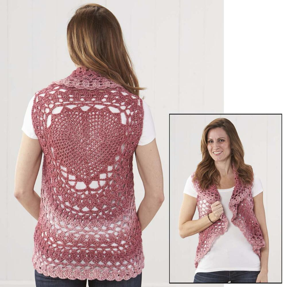 Free Crochet Circle Vest Patterns Mandala