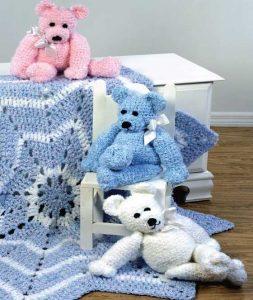 Merry-Go-Round Teddy Bear