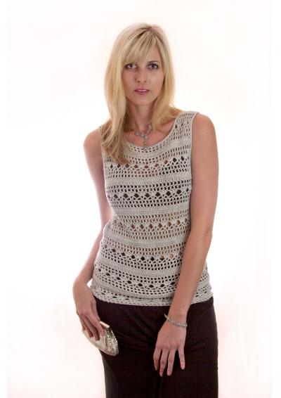 Moonlight Camisole Top Free Crochet Pattern