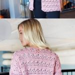Open Front Comfy Cardigan Free Crochet Cardigan