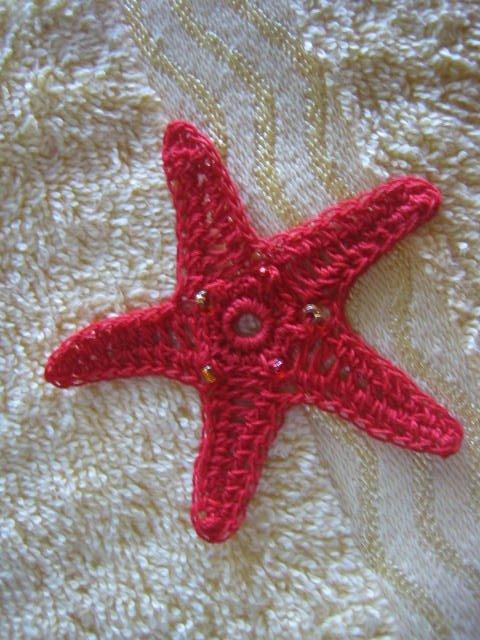 Orange Sea Star Free Crochet Pattern