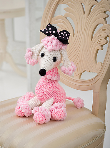 Pomp-a-Poodle Free Crochet Toy Dog Pattern