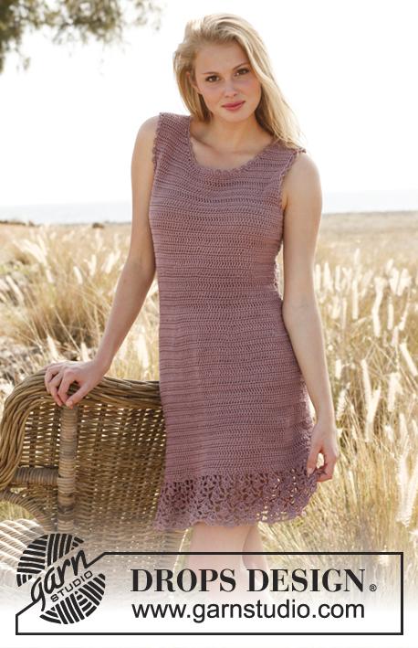 Purple Crocus Dress Free Pattern