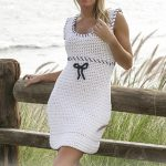 Sailor Maid Free Crochet Dress Pattern