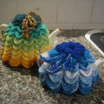 Scallop Tea Cosy Instructions Free Crochet Pattern