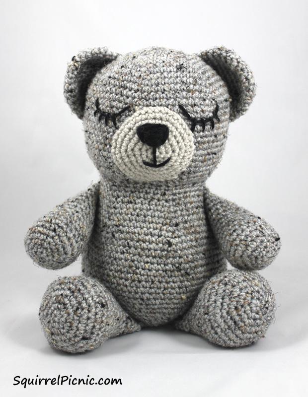 Sleepy Bear Crochet Pattern Crochet Kingdom