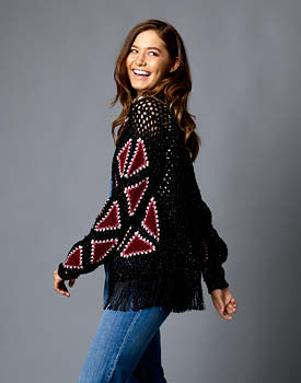 Starlight Crochet Jacket Free Pattern