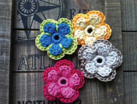 Ultra Pima Mela Flowers Free Crochet Pattern ⋆ Crochet Kingdom