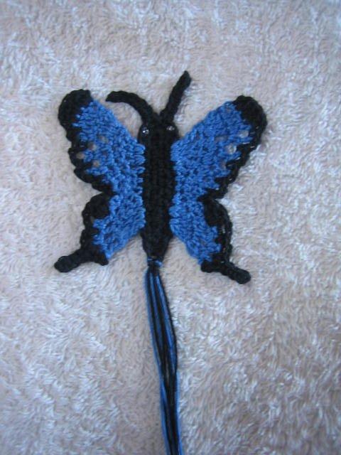 Ulysses Butterfly Free Crochet Pattern