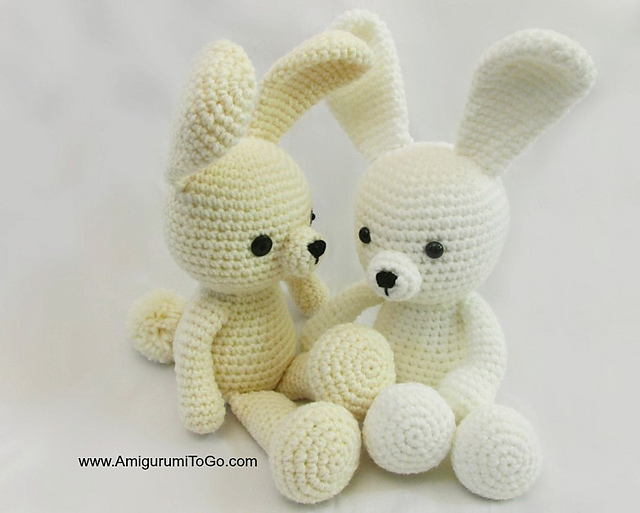 easy crochet bunny pattern