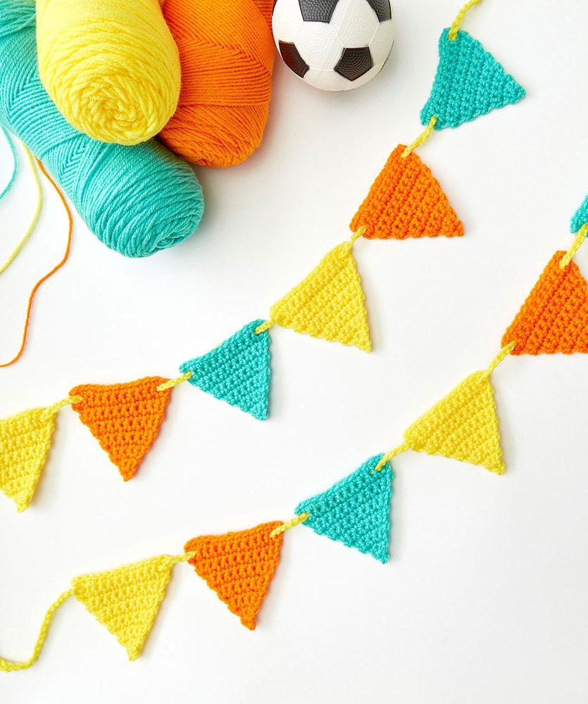 Beginner Crochet Banner Free Pattern