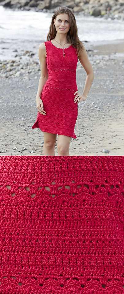 Belladonna Fitted Crochet Dress