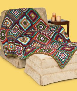 Crochet Granny Classic Afghan Free Beginner Pattern Download