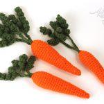 Easy Crocheted Carrots Free Pattern
