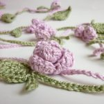 Flora Necklace Flower Free Crochet Pattern