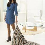 Free Crochet Pattern for a Sea Salt Circle Afghan