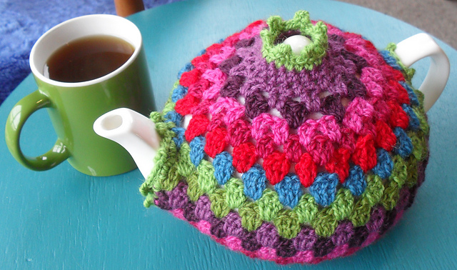 Granny Tea Cozy Free Crochet Pattern