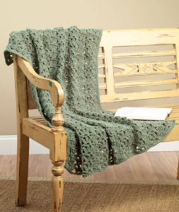 Lacy Lap Throw Free and Easy Crochet Blanket Pattern for Beginners