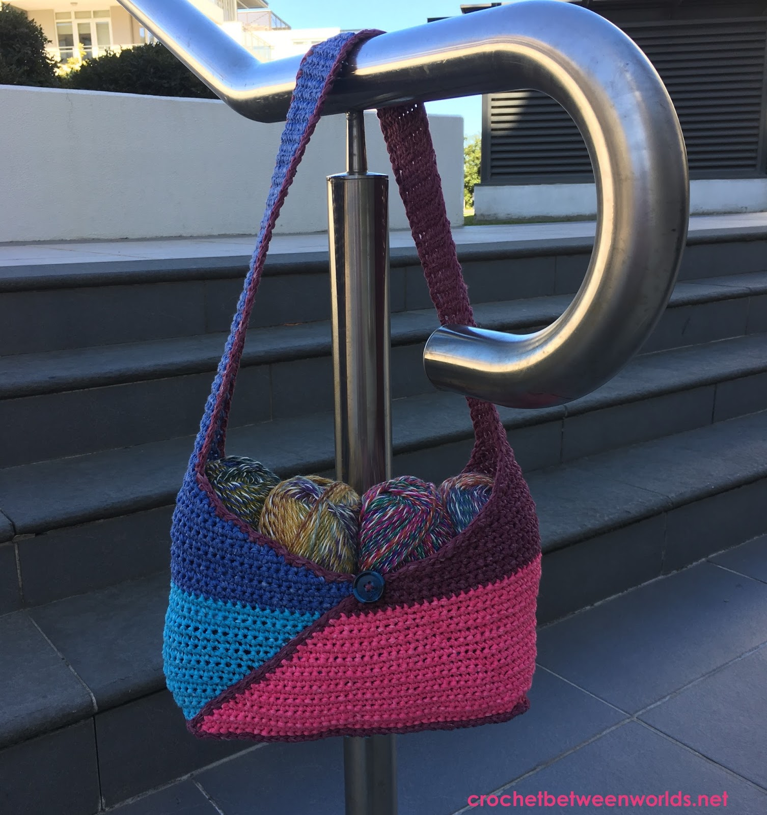 Origami Mystique Bag Free Crochet Pattern