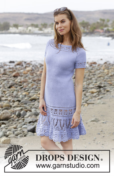 Queensland Crochet Dress Free Pattern