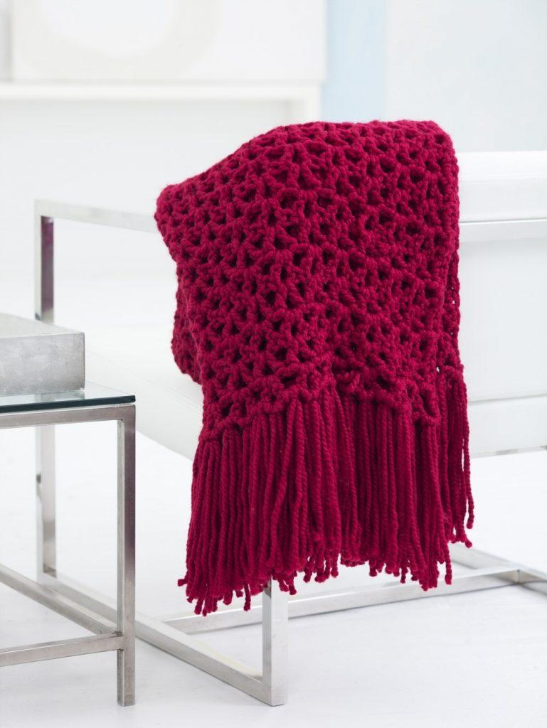 Ryebrook Shawl Free Crochet Pattern