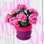 Free Crochet Pattern for Flowers.