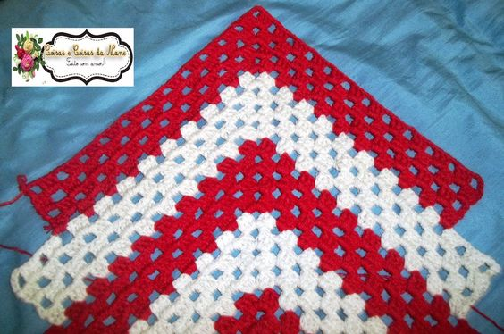 Granny Square Runner Pattern Diagram And Inspiration