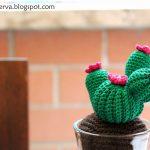 Free Crochet Pattern for a Cactus Amigurumi