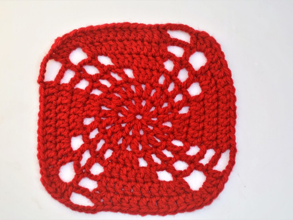 Free Crochet Pattern for a Magic Granny Square