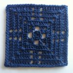 Free Crochet Solid Square Pattern Beyond the Granny