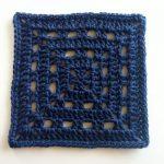 Free Crochet Square Pattern Skipping Square