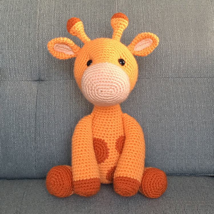 Tiny crochet hippo amigurumi pattern - Amigurumi Today | 750x750