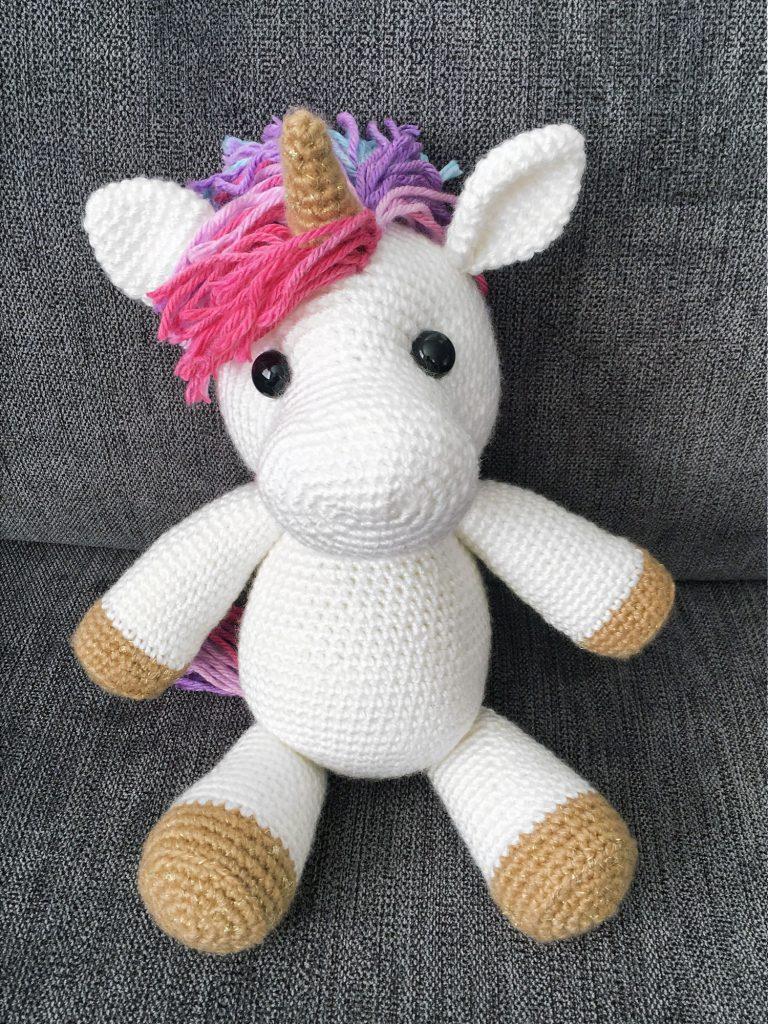 Free Amigurumi Crochet Pattern For Jazzy The Unicorn Crochet Kingdom