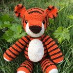 Free Amigurumi Crochet Pattern for Thomas the Tiger
