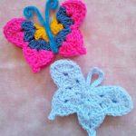 Free Crochet Patter for a Fridgie Butterfly