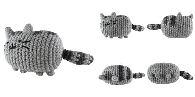 Free Crochet Pattern Pusheen the Cat Amigurumi