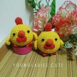Free Crochet Pattern for Amigurumi Chickies