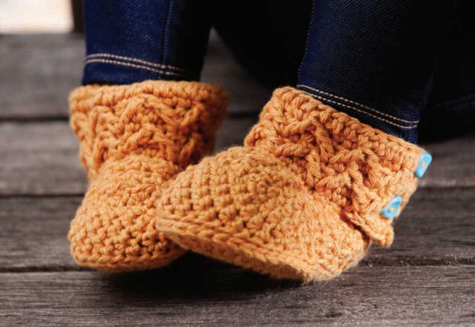 Free Crochet Pattern For Mollys Mukluks Baby Boots Crochet Kingdom
