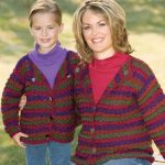 Free Crochet Pattern for Comfy Stripes Cardigan