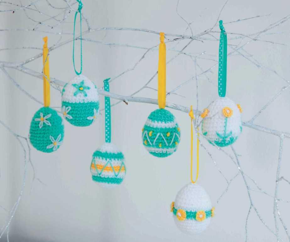 Free Crochet Pattern for Easter Eggs