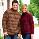 Free Crochet Pattern for a His and Hers Outdoor Sweater