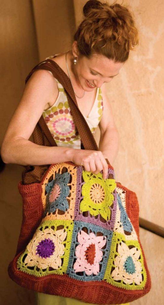 Crochet Bag Patterns With Squares Archives Crochet Kingdom 16