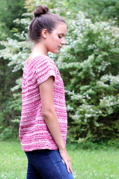 Free Crochet Pattern for a Mars Tee